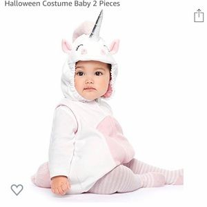 Toddler unicorn Halloween costume. Size 24 mos